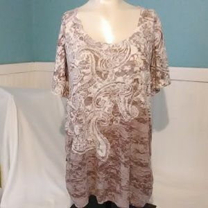 Maurices U-Neck Blouse